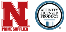 UNL Prime Supplier Logo and Affinity Licensed Products Logo