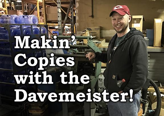 Makin' Copies… Why Choose Screen Printing