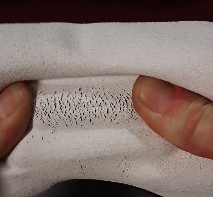 Screen Printing Curing Stretch Test Fail