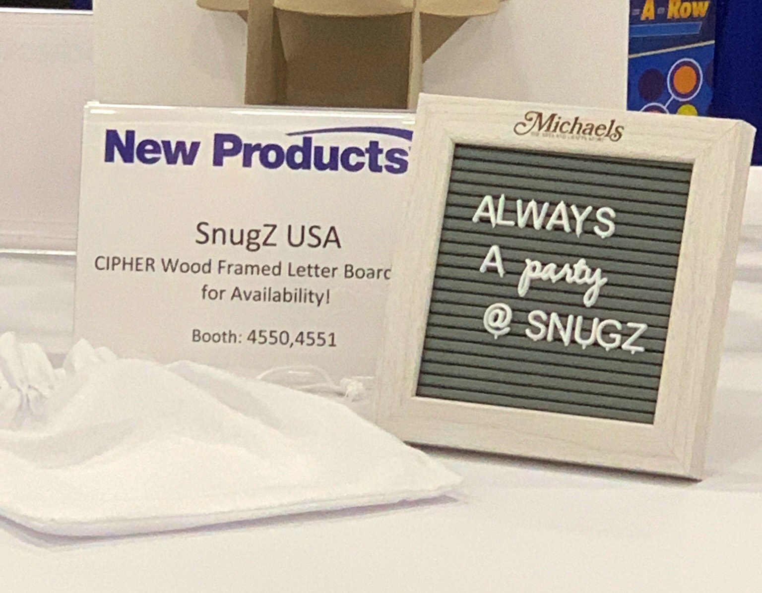 Cipher Wood Framed Letter Board