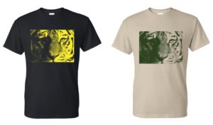 Screen Printed Tiger Shirts