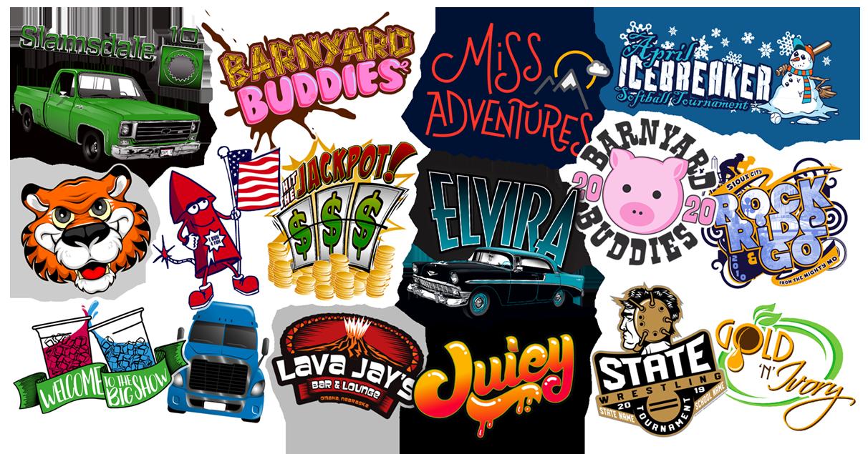 Graphic Design Collage