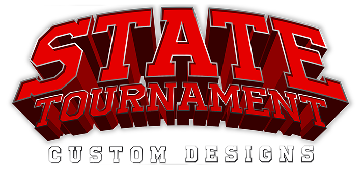 custom high school state tournament designs